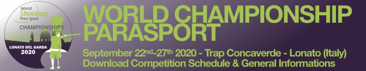 WORLD CHAMPIONSHIP PARASPORT 2020