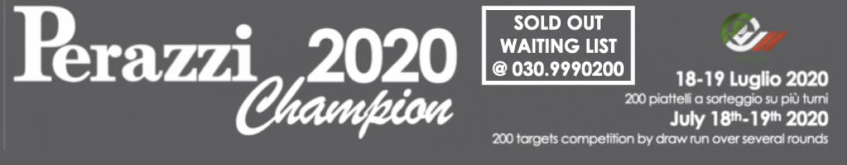 PERAZZI CHAMPION 2020